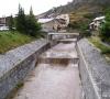 Rampe seuils sur le torrent de Ségure à Ristolas