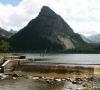 Déversoir du lac des Sagnes