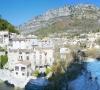 La confluence entre l'Estéron et le Rieu à La Roque en Provence