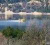 Lutte contre les incendies sur le lac de Sainte-Croix