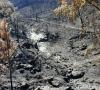 Incendie et lessivage des sols à Esparon sur Verdon